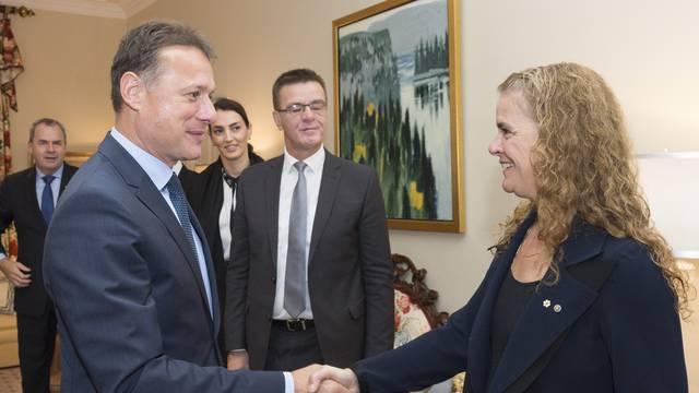 Meeting with His Excellency Gordan Jandroković, Speaker of the Croatian Parliament