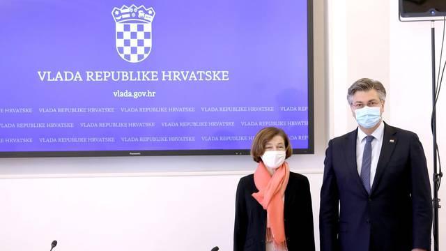 Andrej Plenković primio ministricu oružanih snaga Francuske Republike