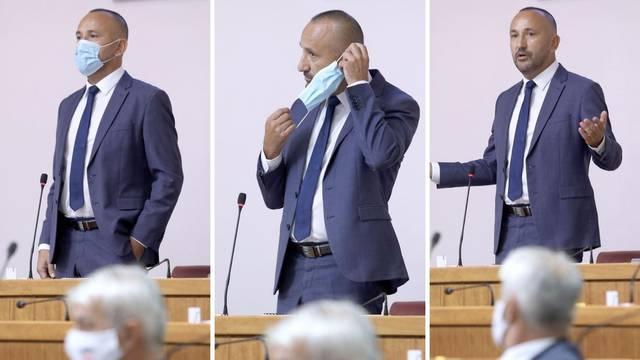 Zekanović htio poštedu, a zbog maske upozorili Hasanbegovića