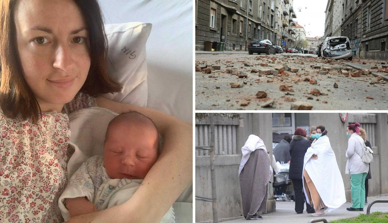 Rodila tijekom potresa: 'Babica je rekla da me neće napustiti'
