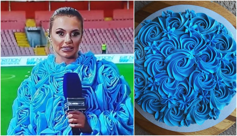 Javila se s utakmice u Zenici, a jakna ju zasjenila: 'Kao torta si'