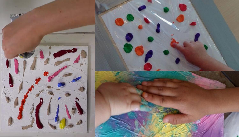 Ideja za roditelje: Neka vaš mali slikar uživa u mrljanju bez mrlja