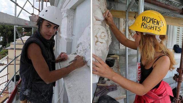 Navukle su kacigu i bacile se na posao obnove hotela u Opatiji