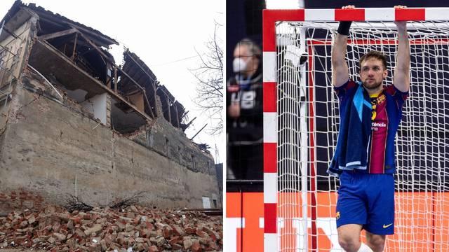 Izgubio finale Lige prvaka pa krenuo u pomoć: Cindrić stavio svoju kuću na raspolaganje