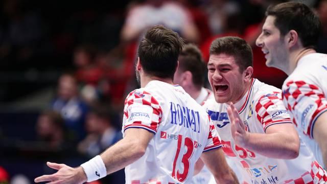 Men's 2020 EHF European Handball Championship - Main Round - Croatia v Germany