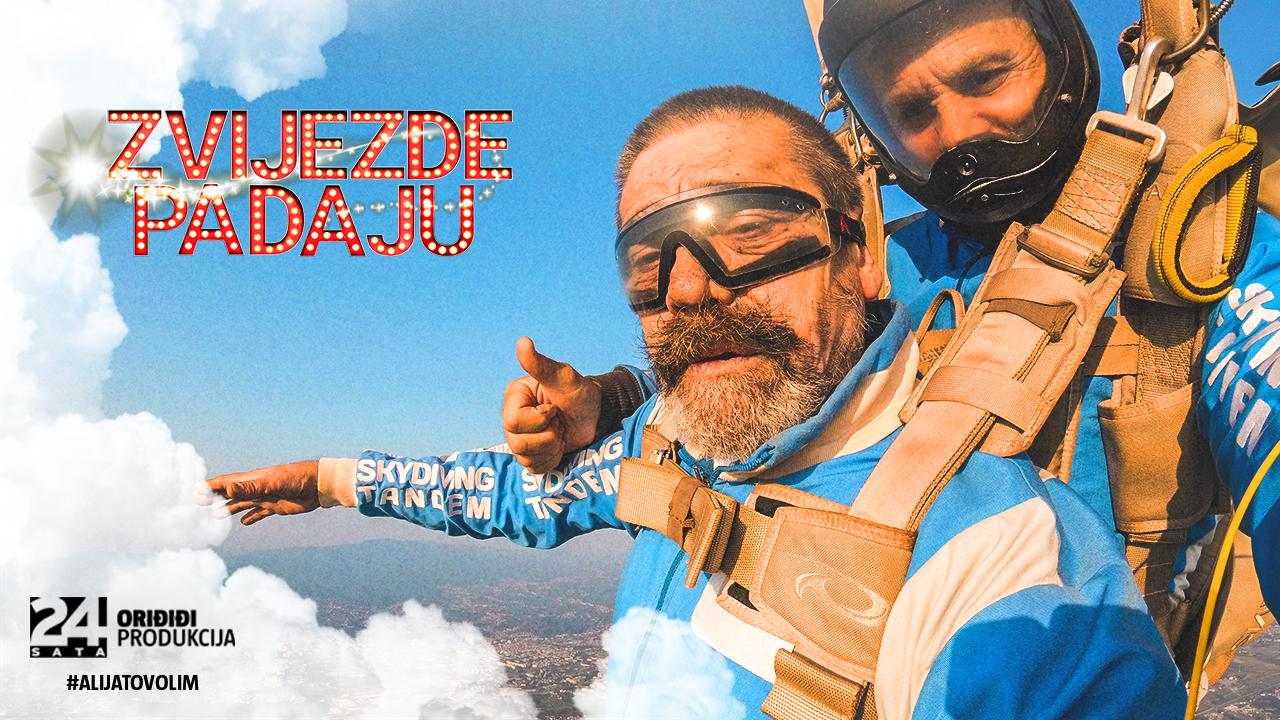 Jaran iz 'Noćne more' skočio s padobranom: Bio sam na vrhu Zagreba, a instruktor me spasio