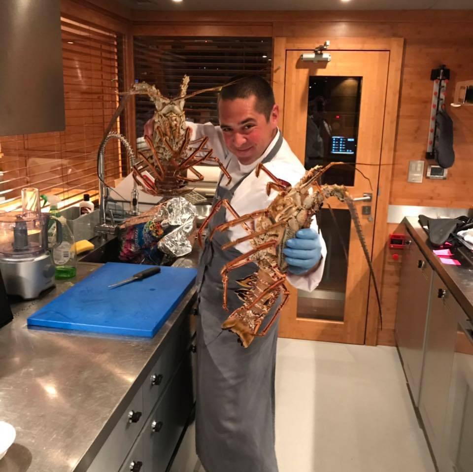 Nekad je bio dizajner Severini i Rozgi, a sad je kuhar na jahti
