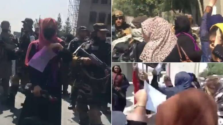 Talibani napali prosvjednice za prava žena u Afganistanu: 'Čini se da prosvjedi nisu dopušteni'