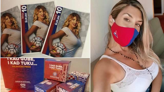 Mirta je dobila personaliziranu sličicu: 'Hvala Hajduku na ovom predivnom iznenađenju...'