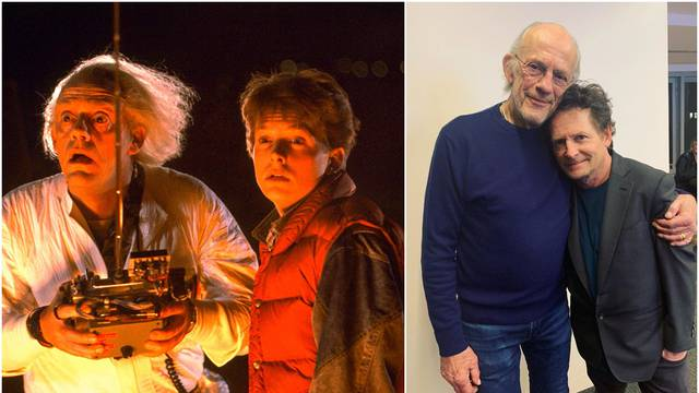 Legendarni Doc i Marty skupa 35 godina nakon kultnog filma