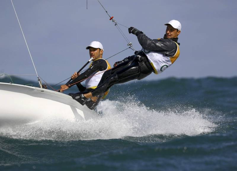 Sailing - Men's Two Person Dinghy - 470 - Race 3/4