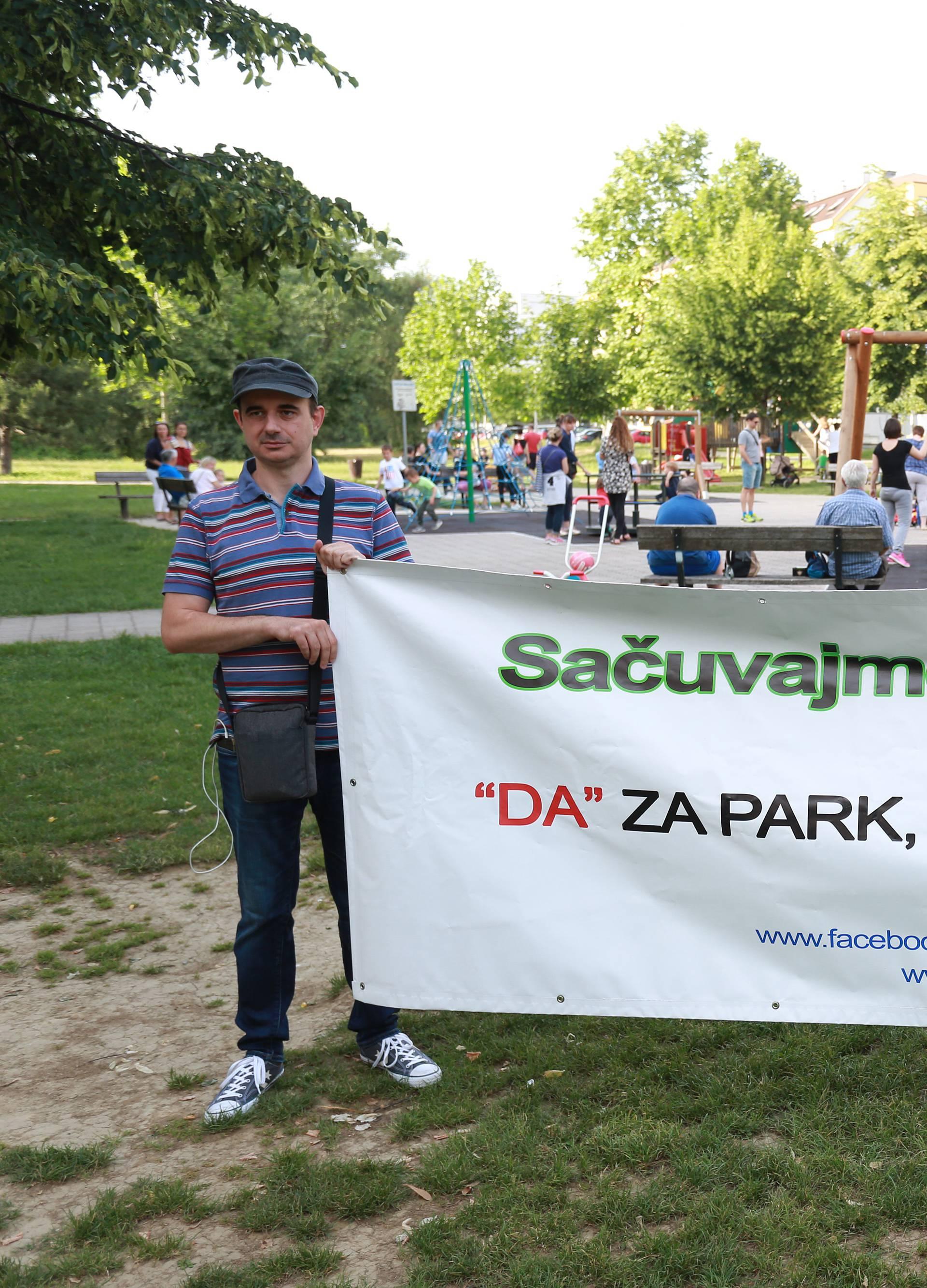 Peticiju za očuvanje parka u Središću potpisalo 1300 ljudi