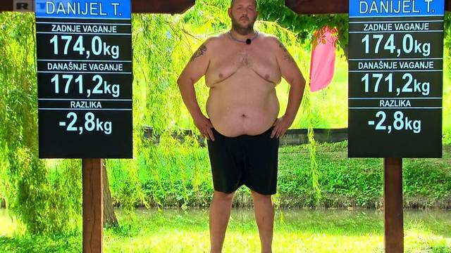 Danijel napustio show, a Ante u šest ciklusa skinuo čak 33 kg...