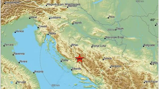 Potres u Dalmaciji: 'Snažno je zatreslo, srećom nije dugo...'