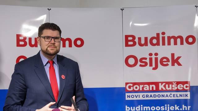 Goran Kušec SDP-ov je kandidat za gradonačelnika Osijeka