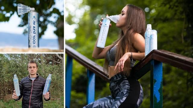 'Prodajem zrak s Lošinja u limenci': Dobro je za pluća, a pomaže i kod korona virusa