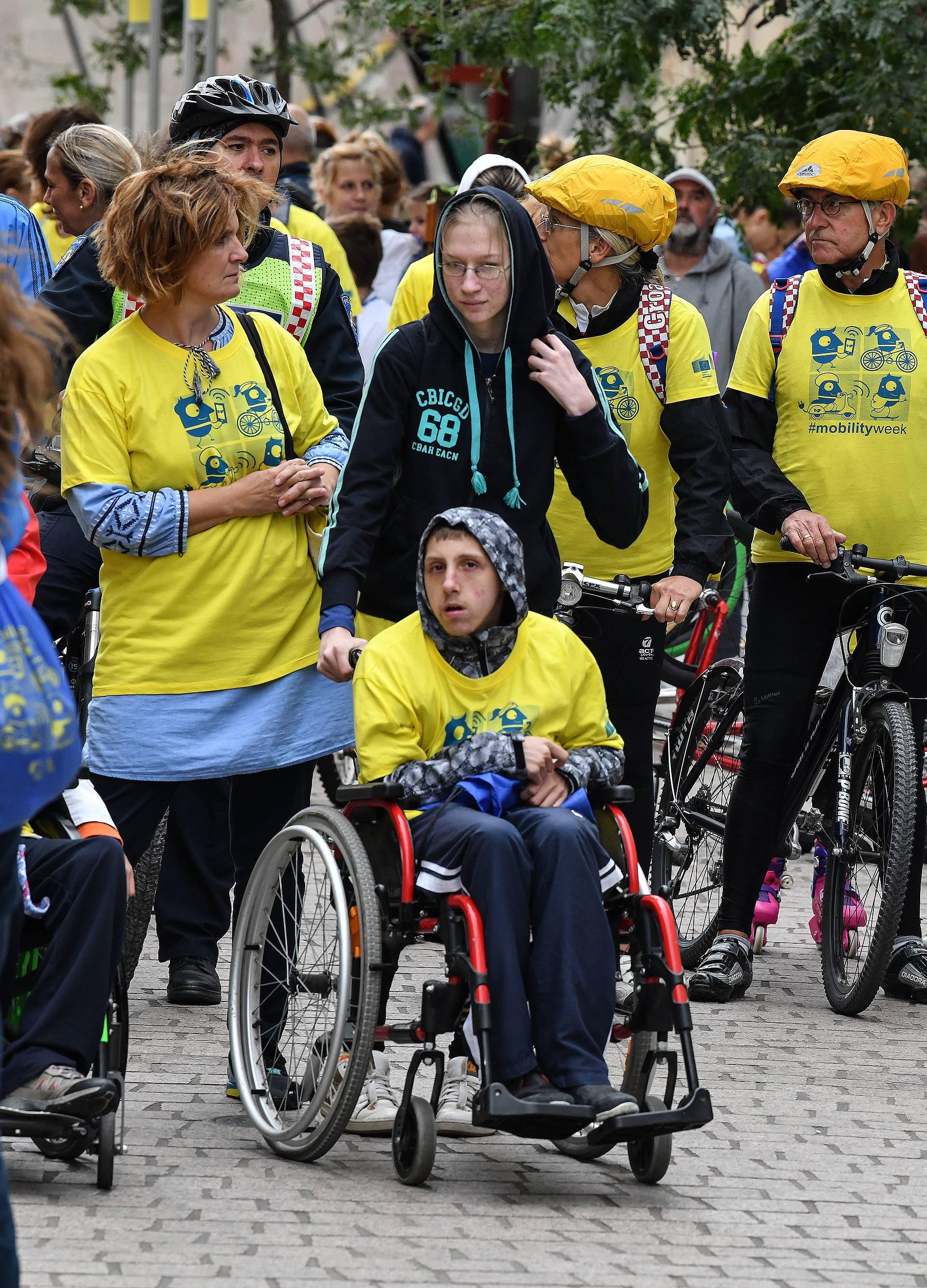 Zagreb: Proslava Europskog tjedna mobilnosti na Europskom trgu