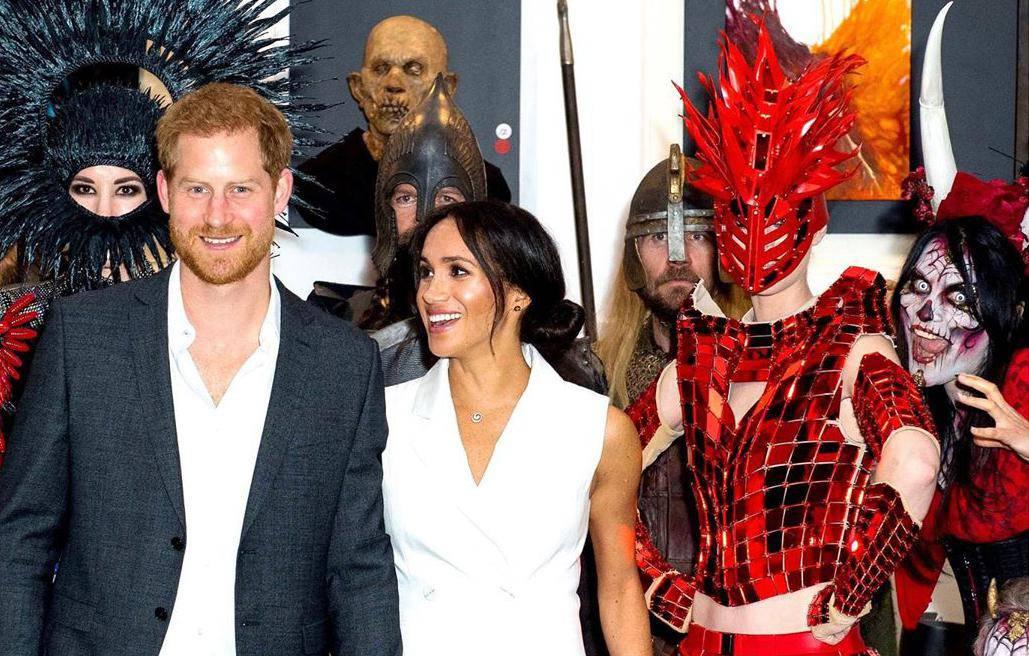 Meghan i Harry obilježili Noć vještica, a Britanci ih napali