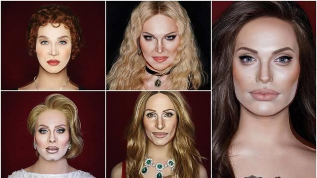 Umjetnik transformacije: Može biti Madonna, Angelina Jolie...