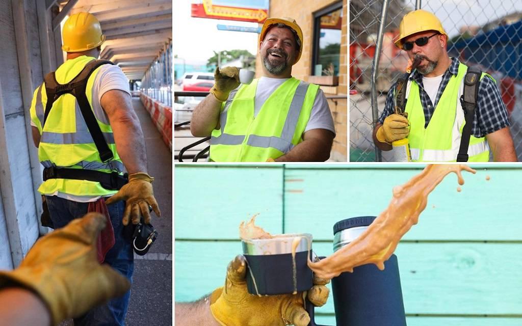 Tata građevinac pokazao kako biti 'prava' Instagram zvijezda