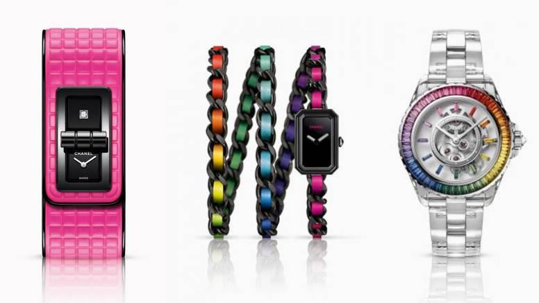 Novi Chanel satovi u hit bojama