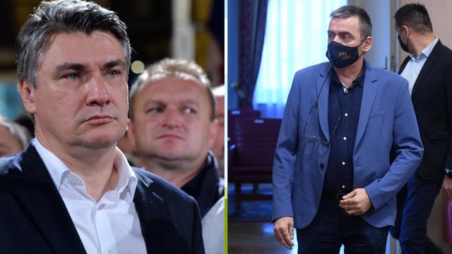 Stipo Mlinarić Ćipe  Milanoviću: 'S Blagom Zadrom sam branio Vukovar, što si ti napravio?'