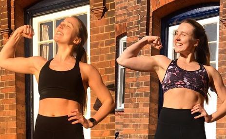 Tijekom 100 dana svaki dan je radila 100 sklekova: Izgubila sam 3 kg, bilo je stvarno teško