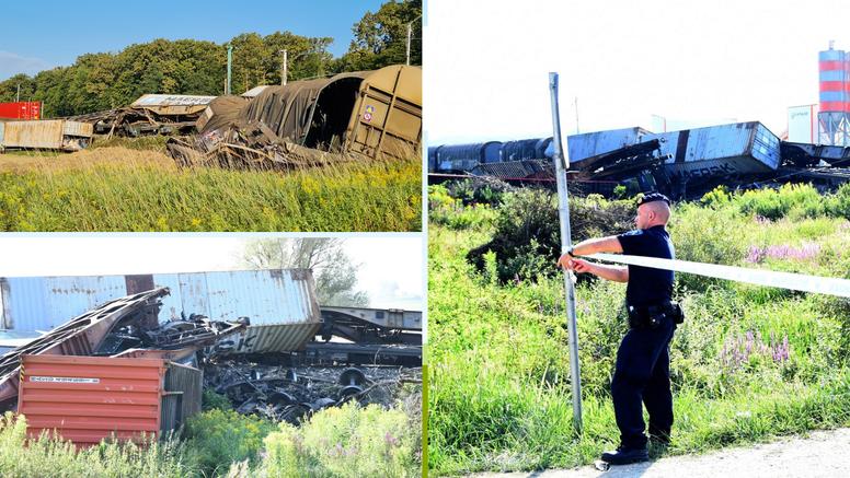 Sudar teretnih vlakova: Jedan se pokvario. Zaustavili su ga. Tada je na njega naletio drugi