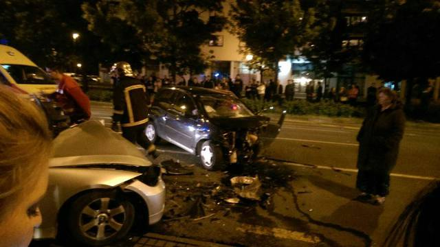 Policija traži trećeg vozača koji je pobjegao s mjesta nesreće