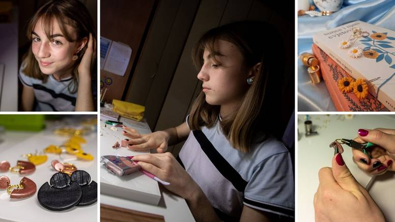 Talentirana gimnazijalka Meri radi predivan nakit od gline