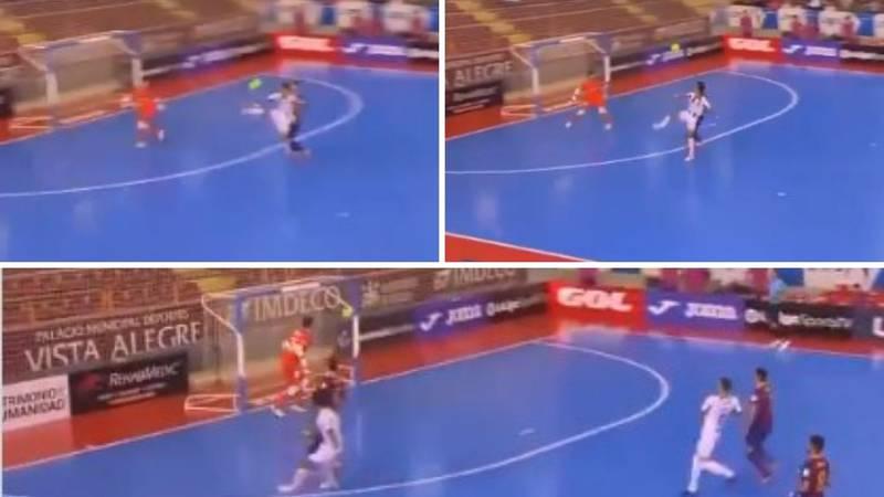 Pogledajte nevjerojatan gol: Duga lopta golmana pa karate potez za pobjedu protiv Barce