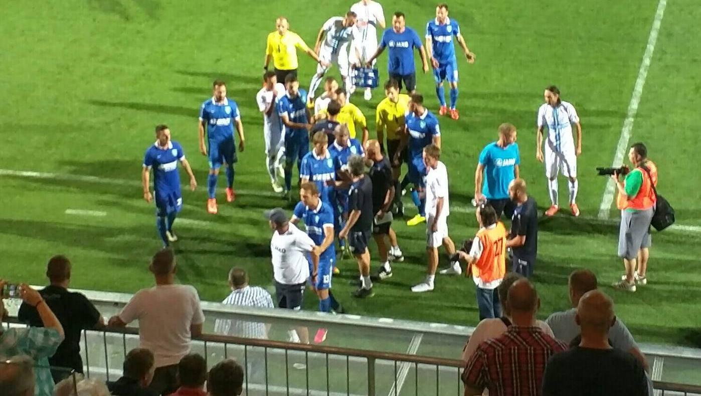 Ibričić provocirao u Hajdukovoj majici, Kek je krenuo na njega