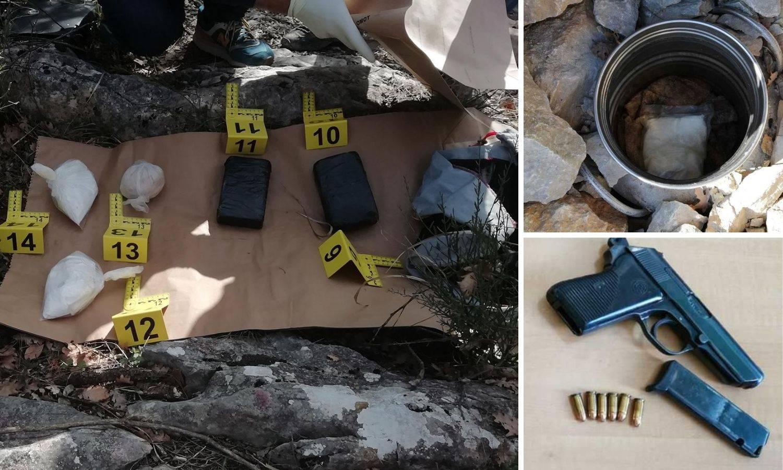 Uhitili bandu dilera: Mladić (24) osmislio pakleni plan, heroin i 'travu' su sakrili u suhozidima