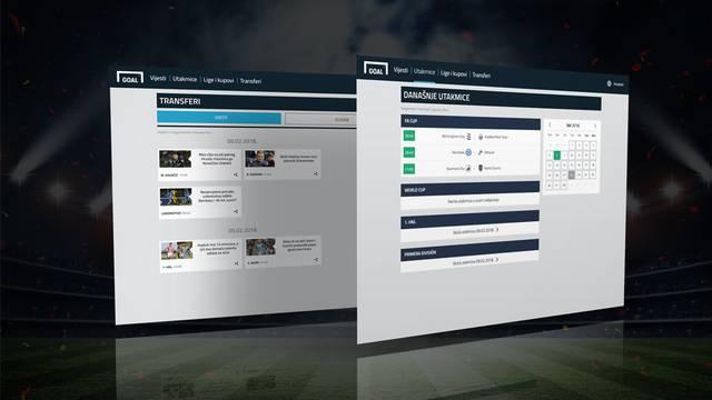 Goal.com, najveći nogometni medij, osvanuo u novom ruhu!