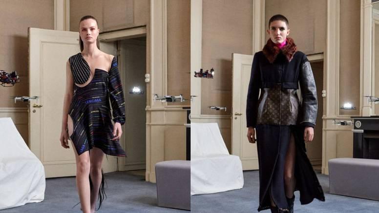 Modni dizajner iz Nizozemske radi novu odjeću od starih dizajnerskih svari s potpisom