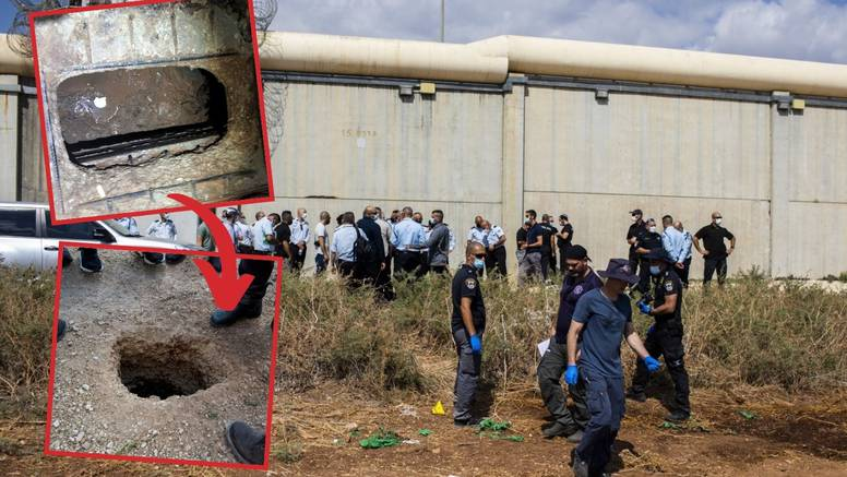 Izraelci love šest Palestinaca: Iz zatvora su pobjegli kao u filmu 'Iskupljenje u Shawshanku'