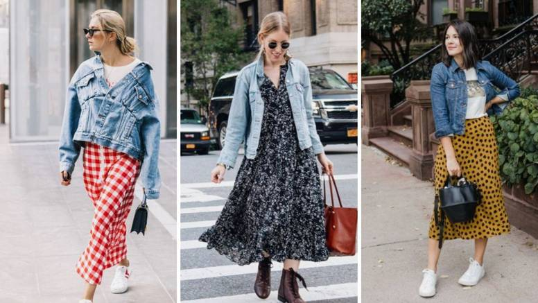 Deset načina kako kombinirati traper jaknu - odličan je izbor za prohladna jesenska jutra