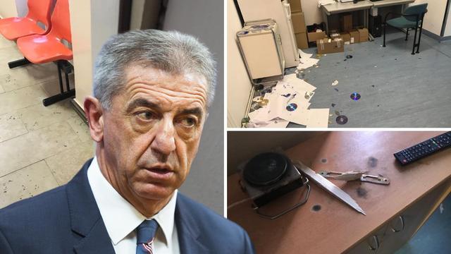 Nećak Darka Milinovića razbijao stvari po Općoj bolnici Gospić