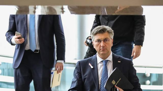 Zagreb: Nakon sjednice Vlade održano je obraćanje medijima