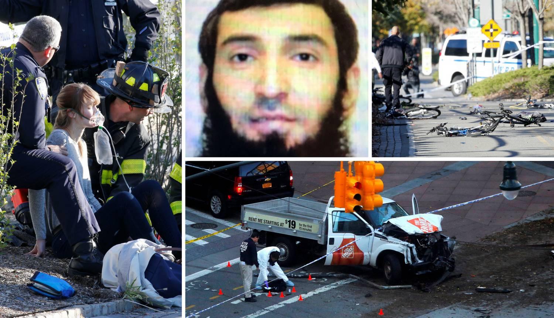 Zaletio se kamionetom u ljude: 'Čin terora odnio osam života'