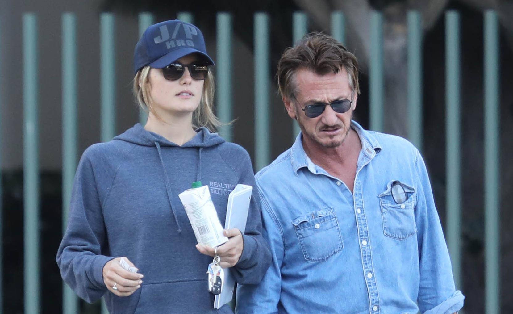 *EXCLSUIVE* Sean Penn will drive all over LA to make his new girl happy