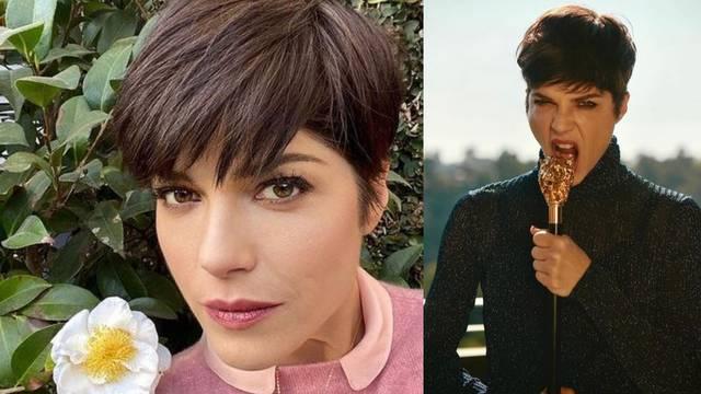 Selma Blair ima super frizuru: Kratku s dugim, gustim šiškama