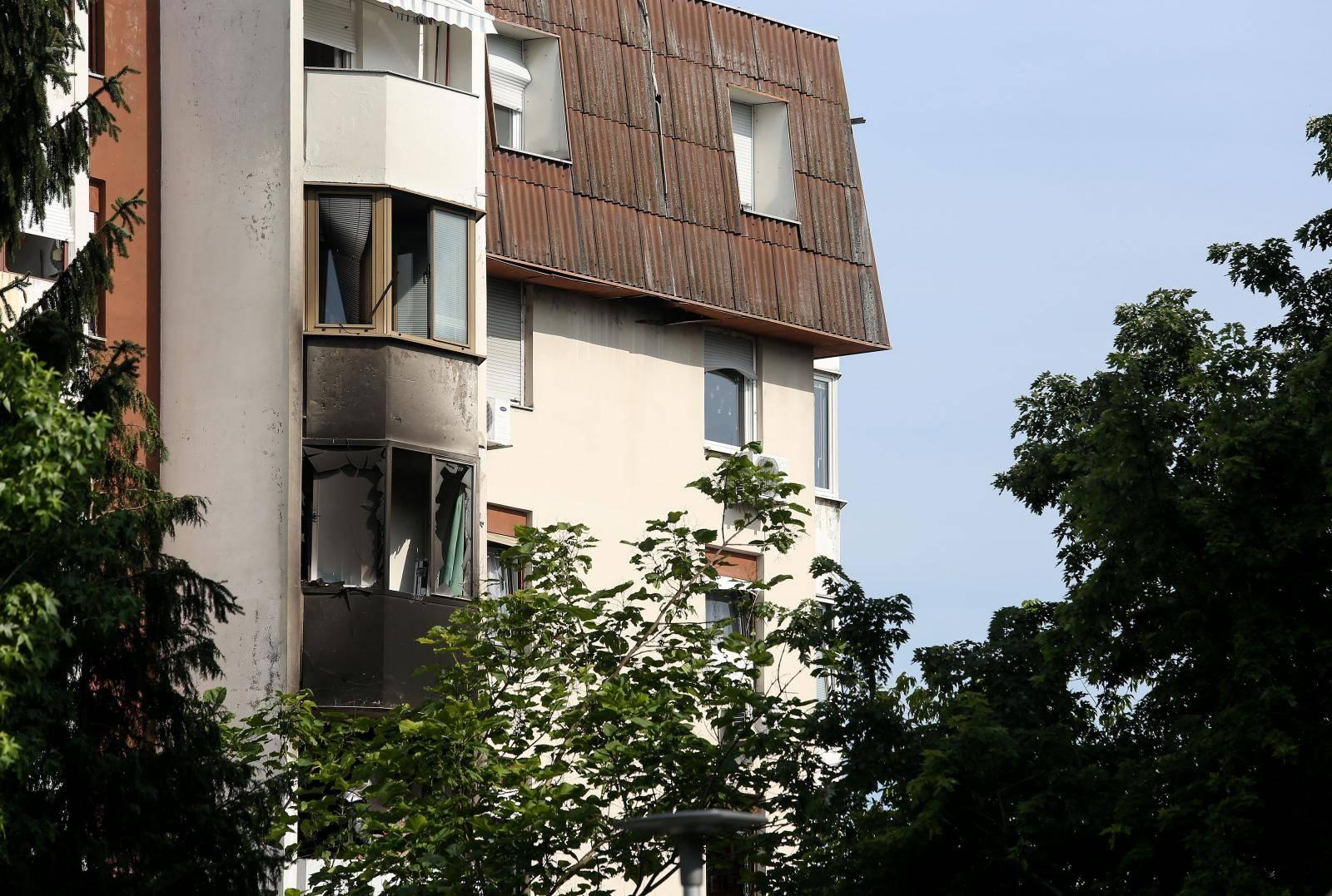 Zagreb: U eksploziji plinske boce u zgradi na Stenjevcu jedna osoba ozlijeðena