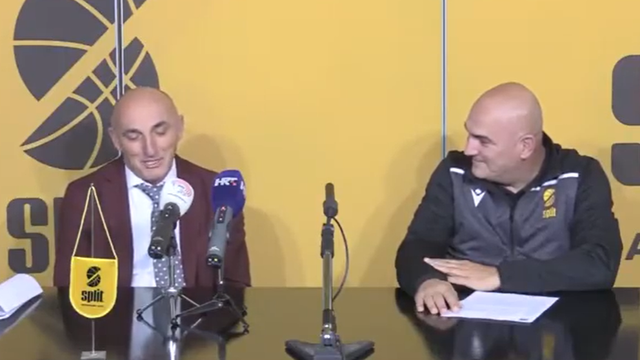 Trener Mornara na rubu suza: 'Zbog Hajduka nisam spavao, a zbog Šolmana igram košarku...'