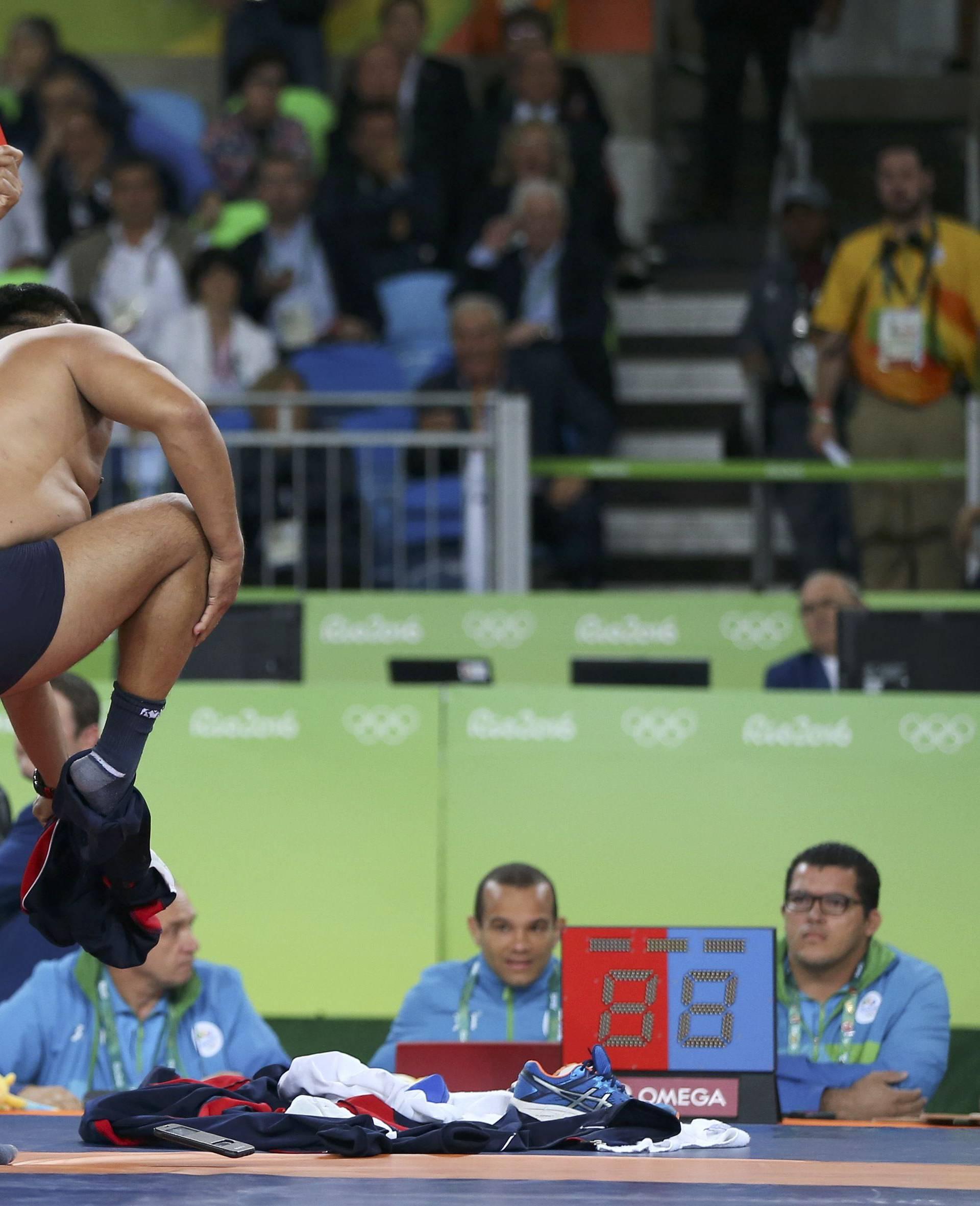 Wrestling - Men's Freestyle 65 kg Bronze
