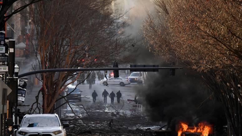 Eksplozija u centru Nashvillea: Razorena ulica i uništene zgrade