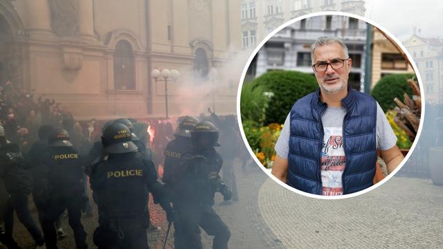 Hrvati iz Praga o neredima: 'Bilo je puno huligana, pilo se na litre i gađalo policajce'