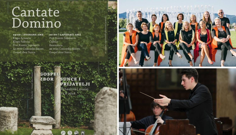 Cantate Domino: Ne propustite koncert u Arheološkom muzeju