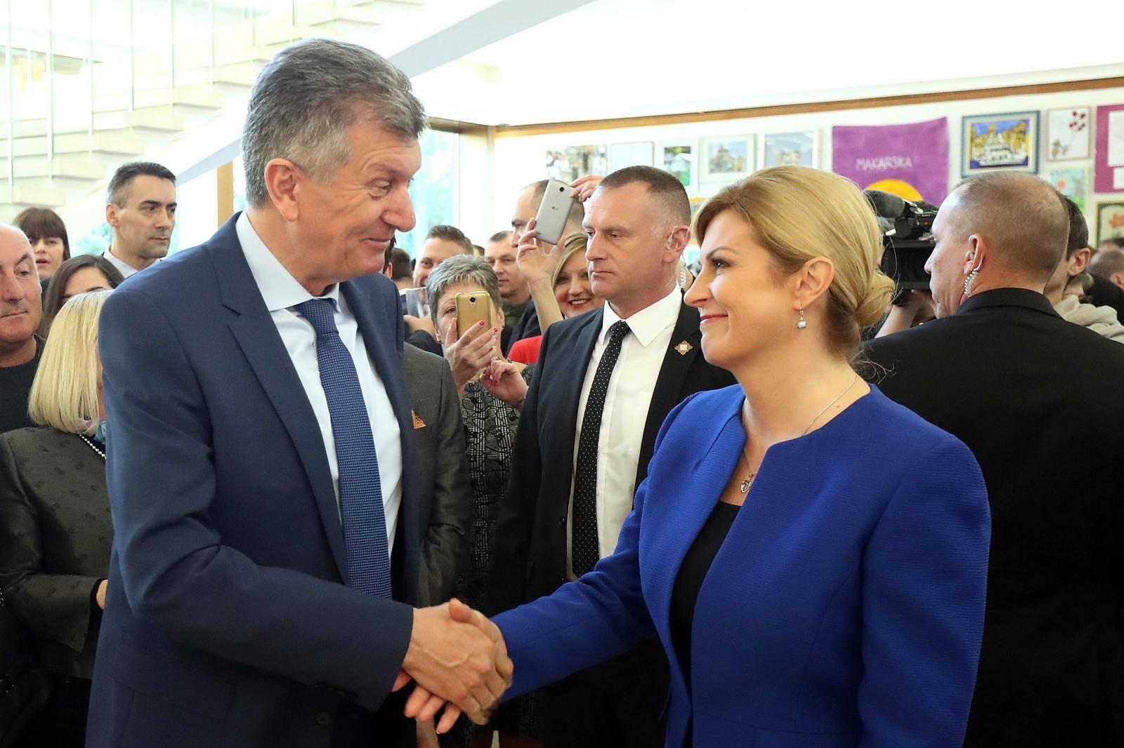 """Zagreb: Dan otvorenih vrata u Uredu predsjednice na temu """"Govorimo donorski"""""""