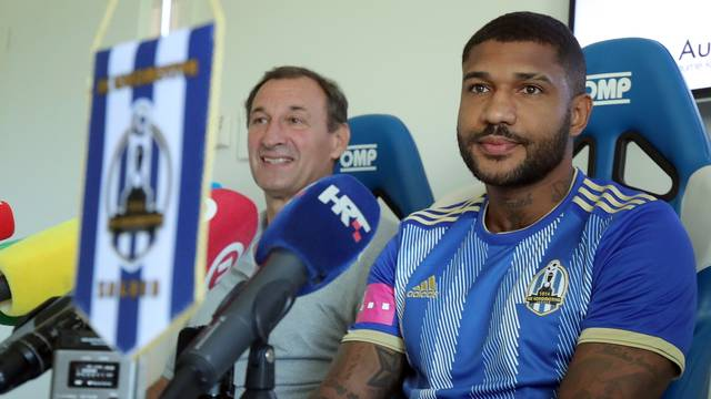 Zagreb:  Lokomotiva predstavila svoje novo pojačanje, Brazilca Sammira